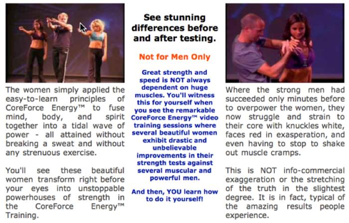 CoreForce Energy strength training for women