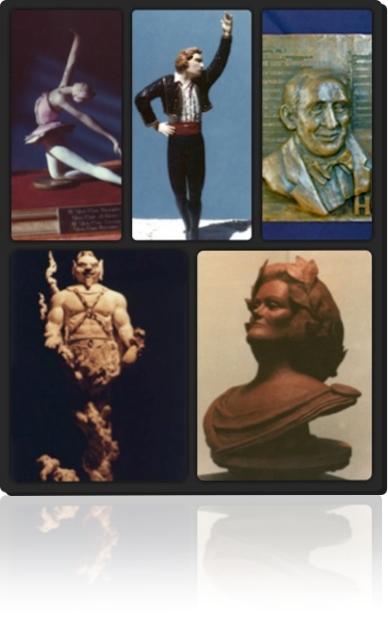 Garin Bader sculptures