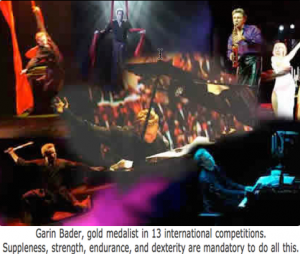 Garin Bader Musical Magic show